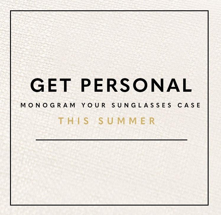 Summer Sunglasses Case Monogramming!