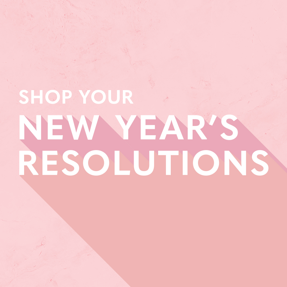 Shop Your New Year's Resolutions!