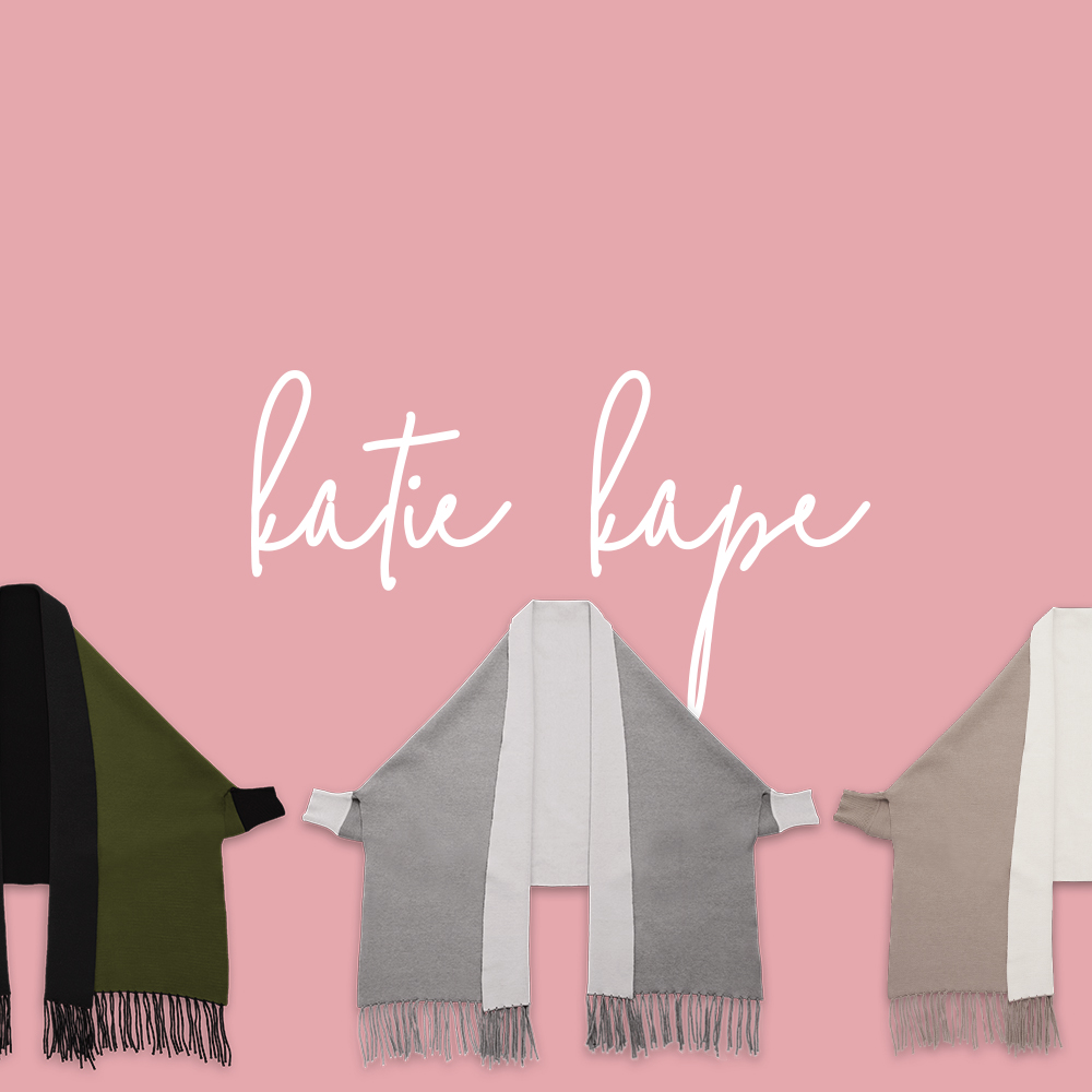 4 Ways To Style Our Katie Kape