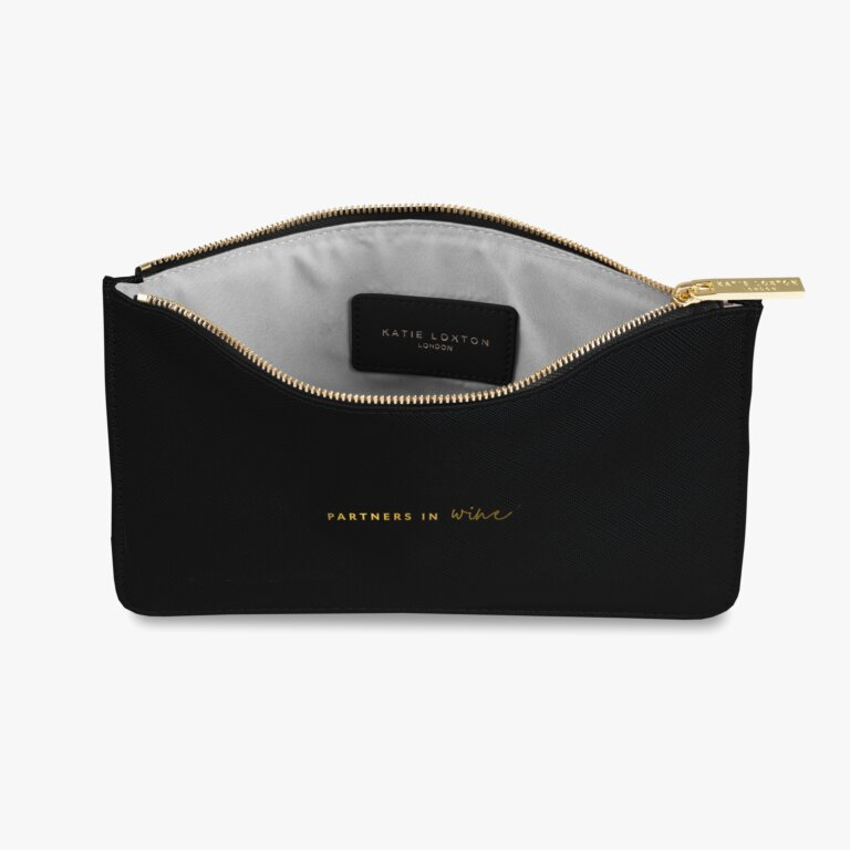 Perfect Pouch Partners In Wine In Black