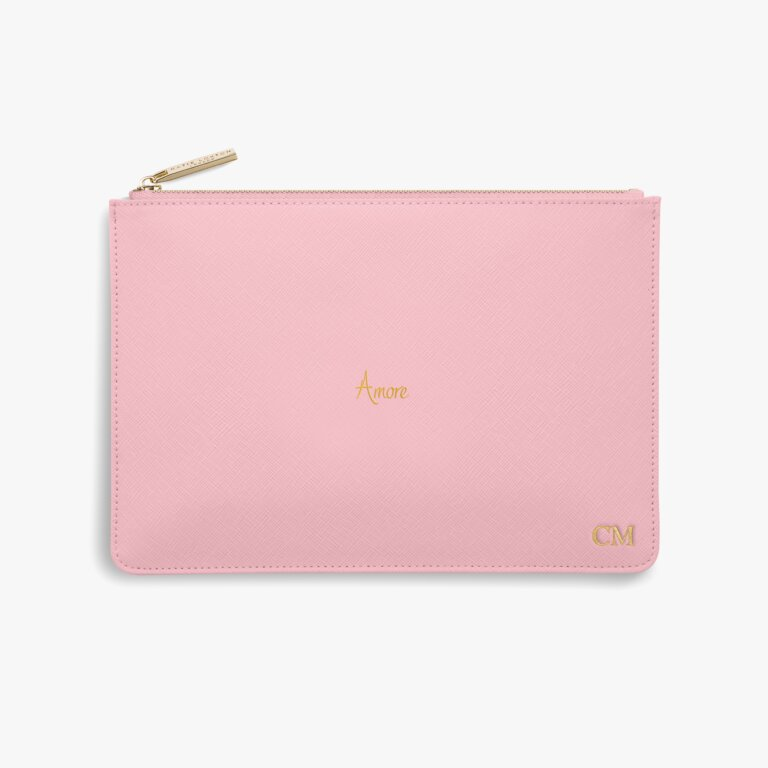 Perfect Pouch Amore In Foxglove Pink
