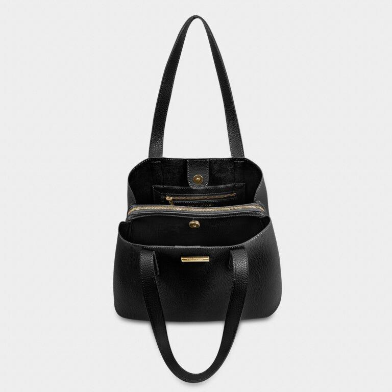 Riley Shoulder Bag In Black