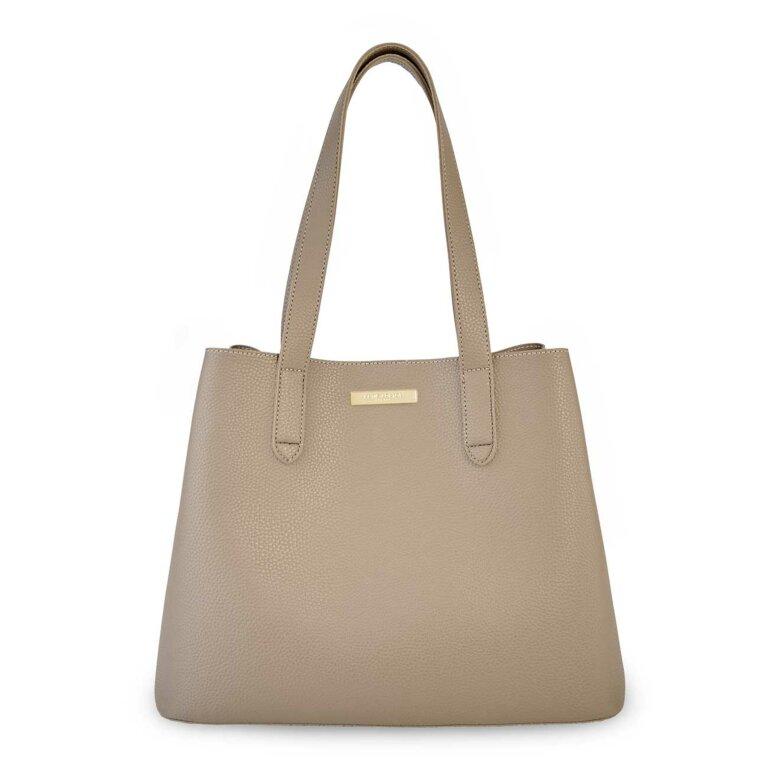 Riley Shoulder Bag | Taupe