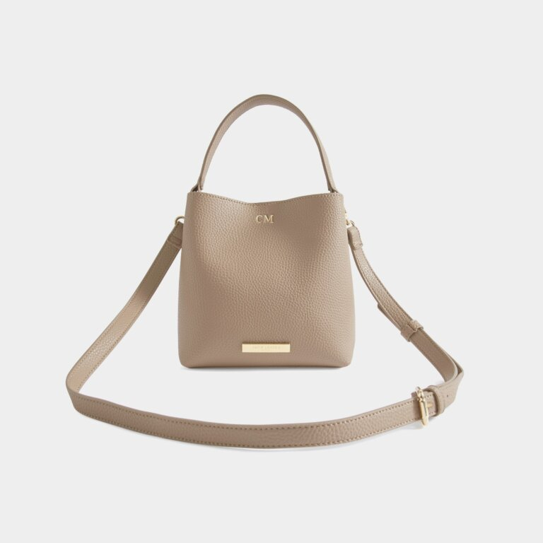Lucie Crossbody Bag In Taupe