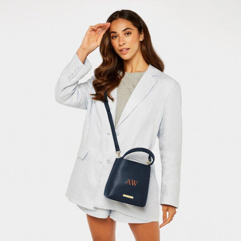 Lucie Crossbody Bag In Navy