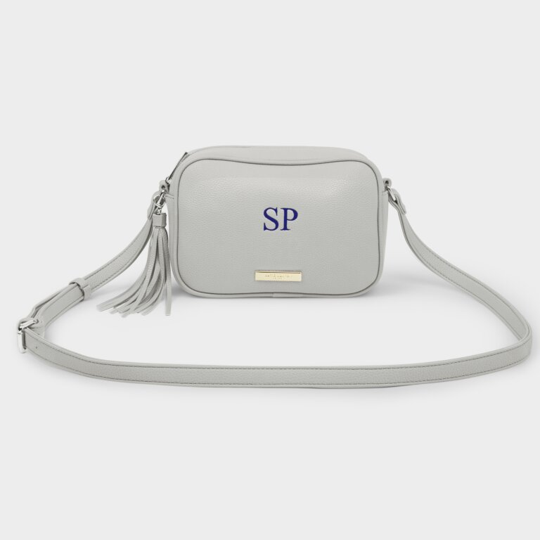 Sophia Tassel Crossbody Bag In Stone