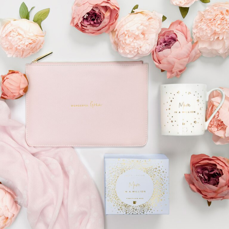 Perfect Pouch Wonderful Gran In Blush Pink