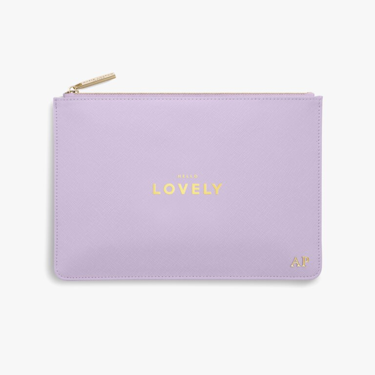Perfect Pouch Hello Lovely In Lilac