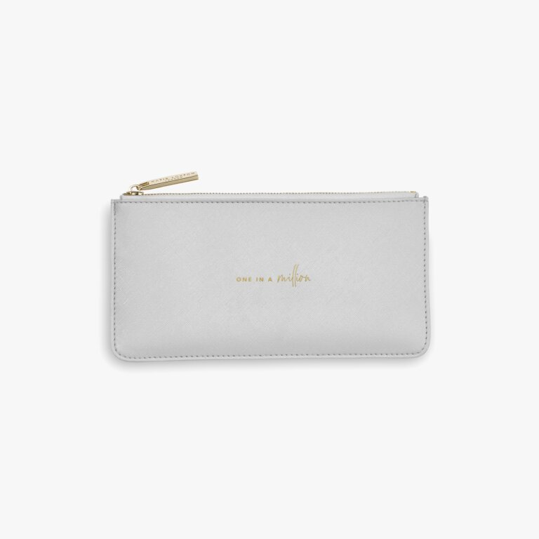 Perfect Pouch Gift Set One In A Million In  Pale Grey