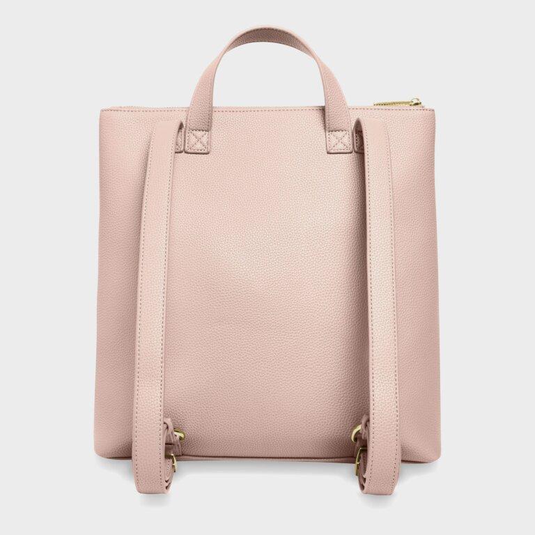 Brooke Backpack In Pale Pink