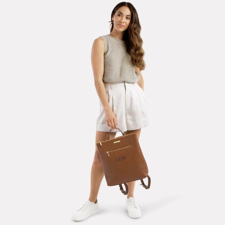 Brooke Backpack In Cognac