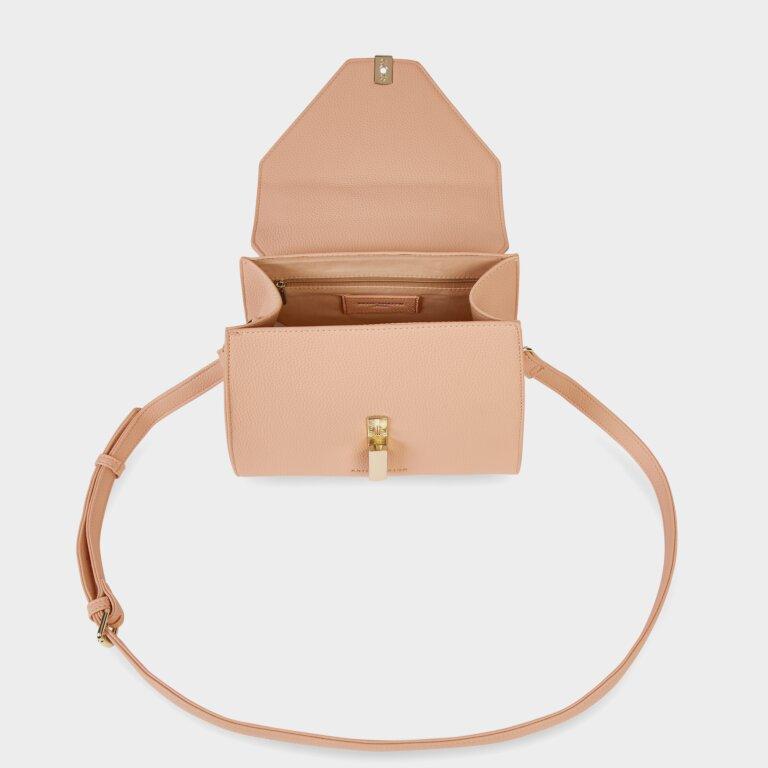 Casey Top Handle Bag Pale Pink And Dark Pink