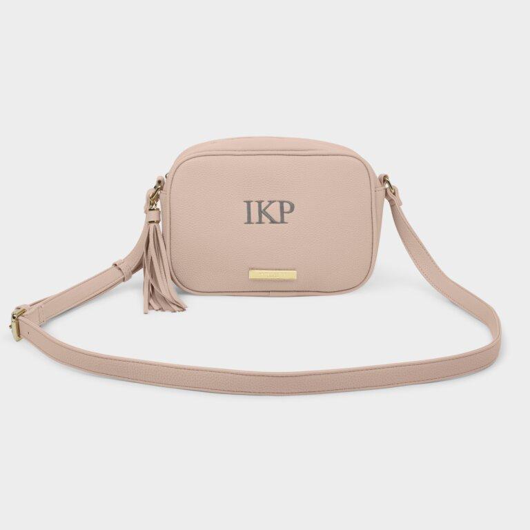 Sophia Tassel Crossbody Bag In Pale Pink
