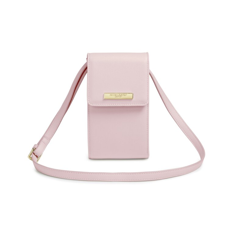 Taylor Crossbody Bag In Pale Pink