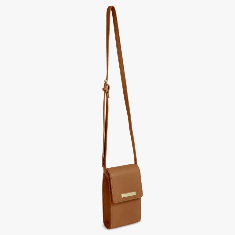 Taylor Crossbody Bag In Cognac