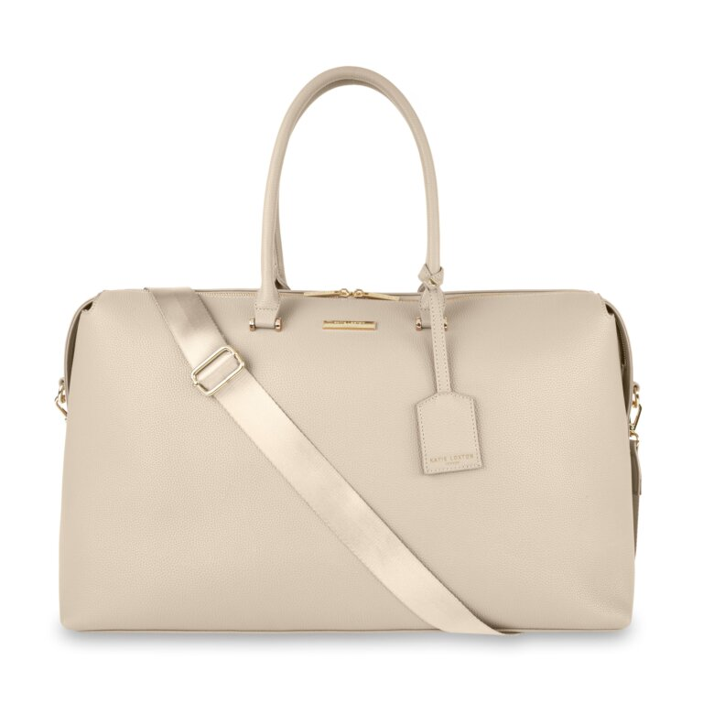 Kensington Weekend Bag In Light Beige