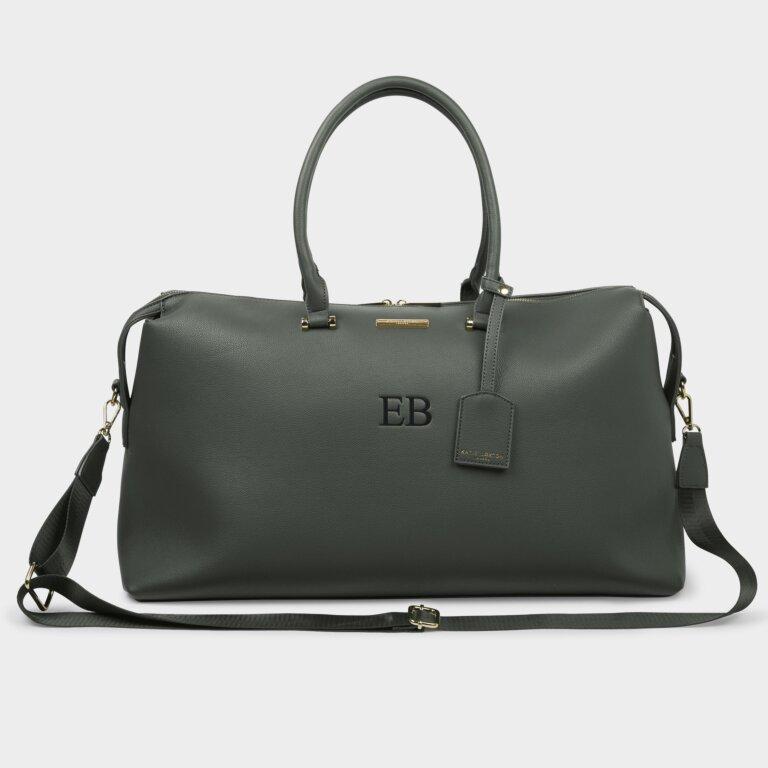 Kensington Bag Sustainable Style In Khaki