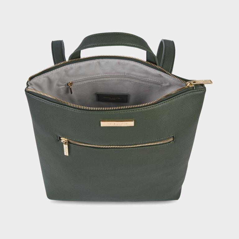 Brooke Backpack Sustainable Style In Khaki