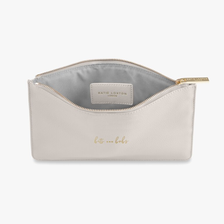 Perfect Pouch Bits And Bobs In Grey