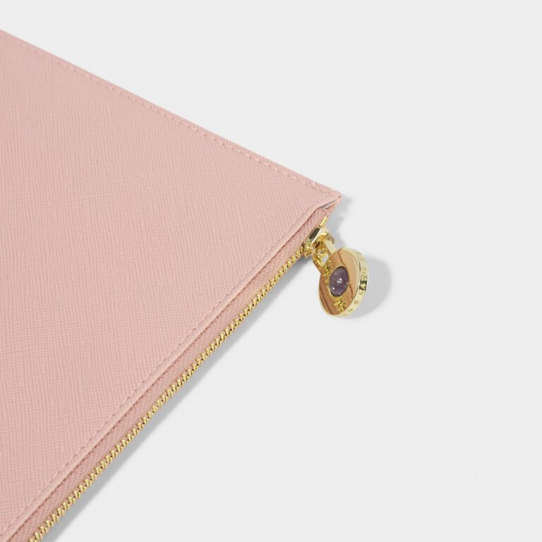 Wellness Perfect Pouch Hello Beautiful in Pale Pink