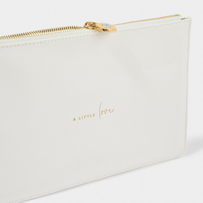 Wellness Perfect Pouch A Little Love in White