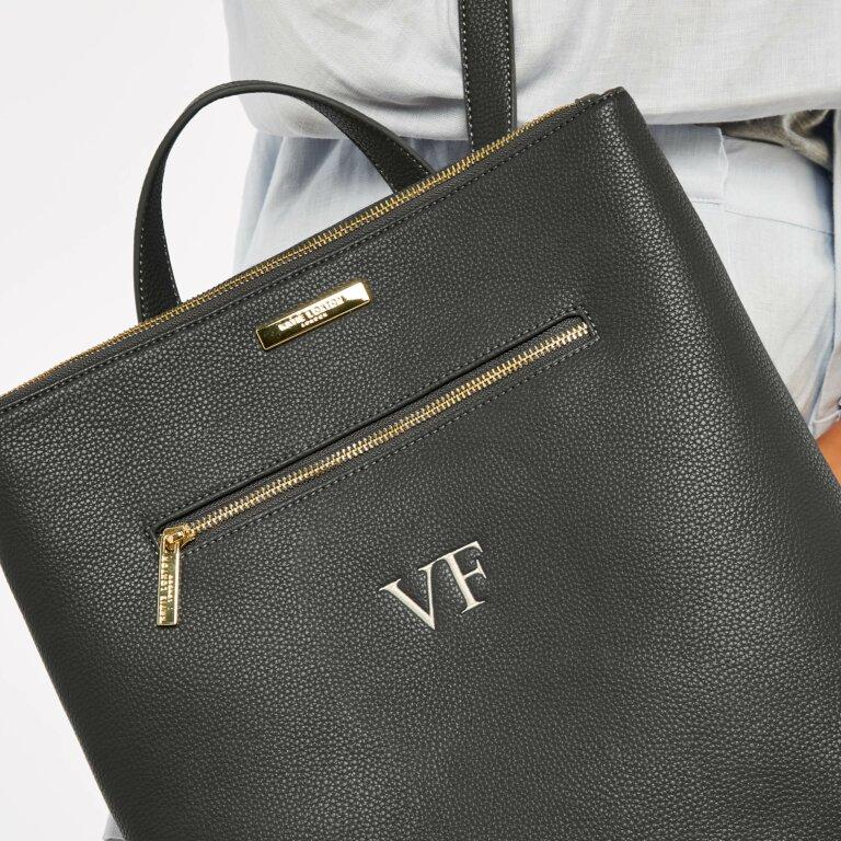 Brooke Backpack in Charcoal Grey