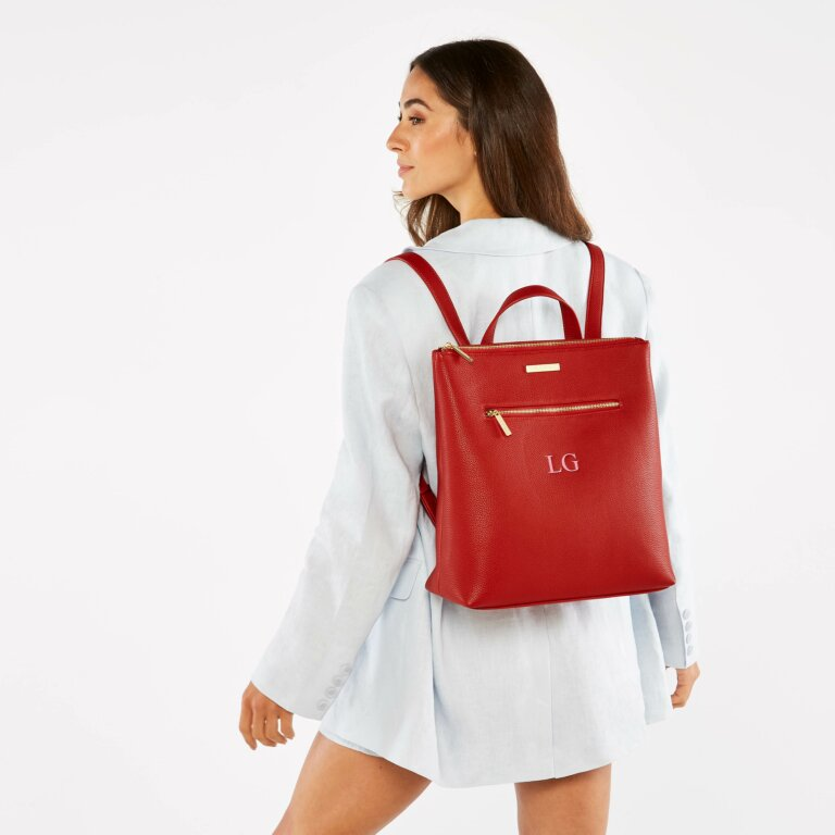 Brooke Backpack in Red