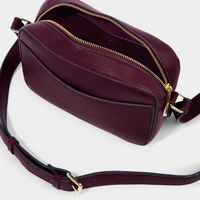 Cara Crossbody Bag in Plum
