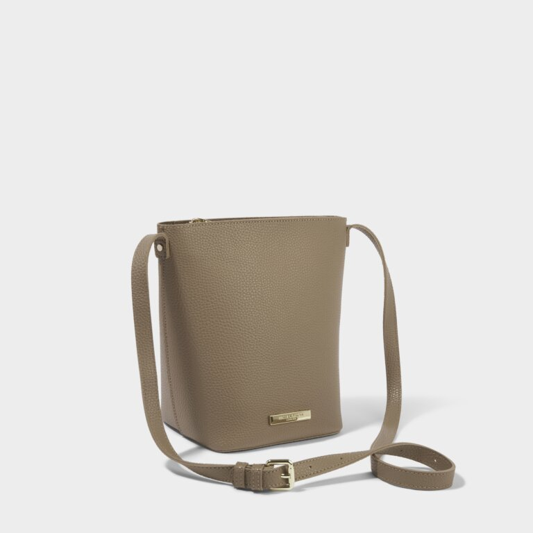 Laura Crossbody Bag in Taupe