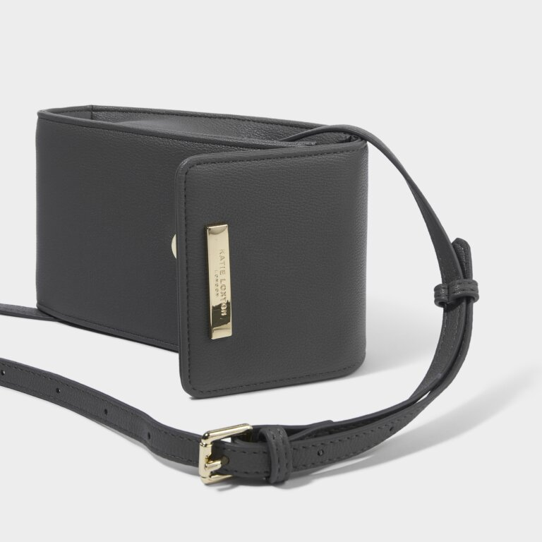Taylor Crossbody Bag in Charcoal
