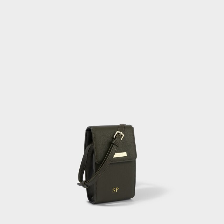 Taylor Crossbody Bag in Khaki