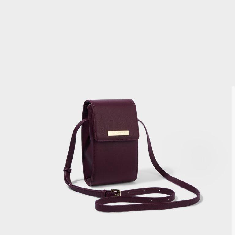 Taylor Crossbody Bag in Plum