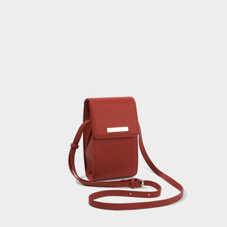 Taylor Crossbody Bag in Red