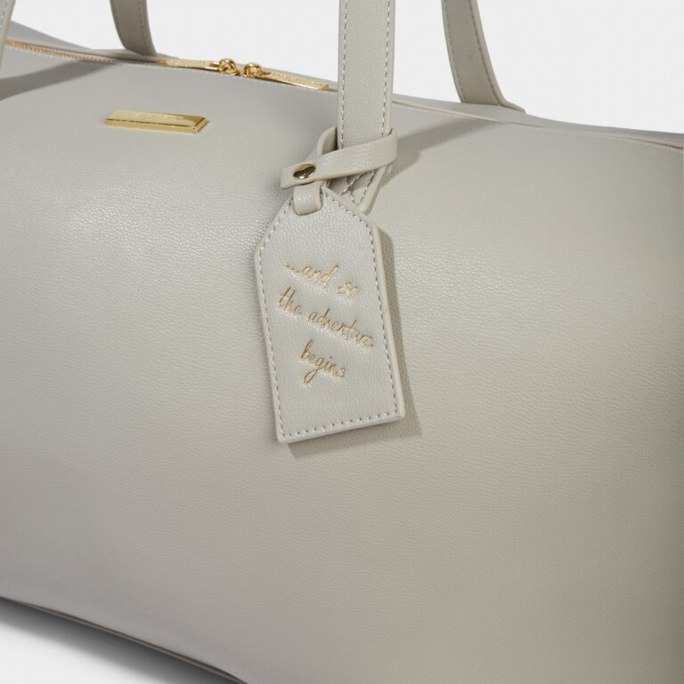 Weekend Holdall Bag in Gray