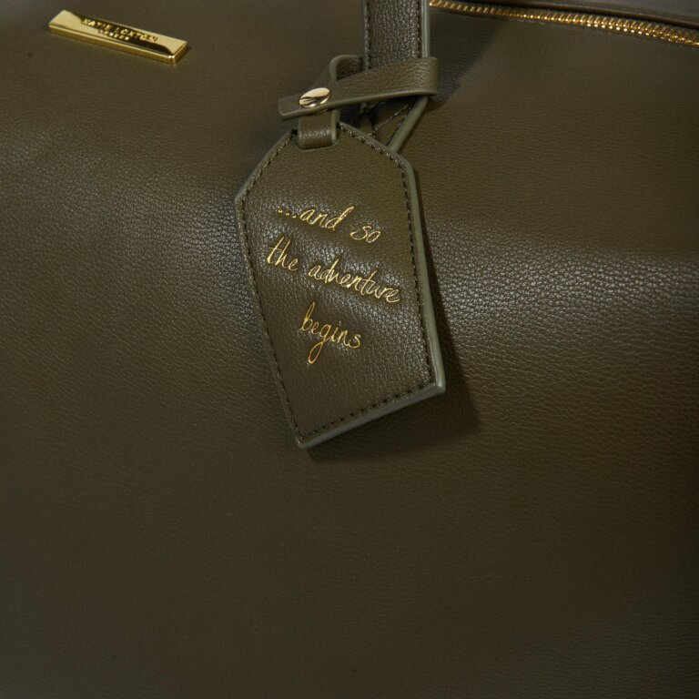 Weekend Holdall Bag in Olive
