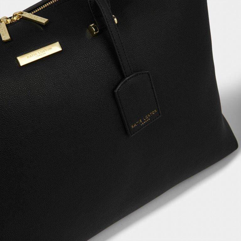 Kensington Weekend Bag Sustainable Style in Black