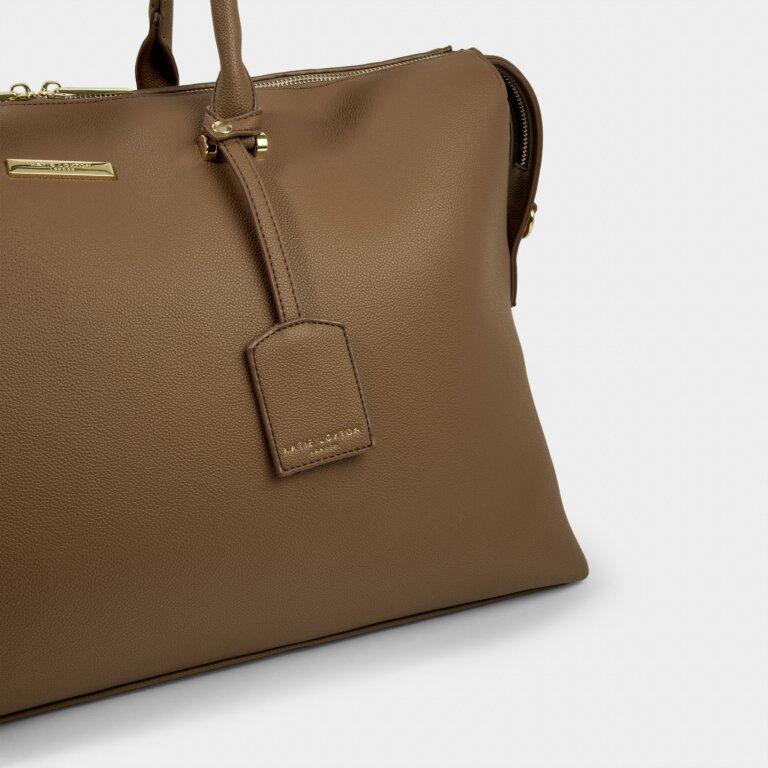 Kensington Weekend Bag Sustainable Style in Brown