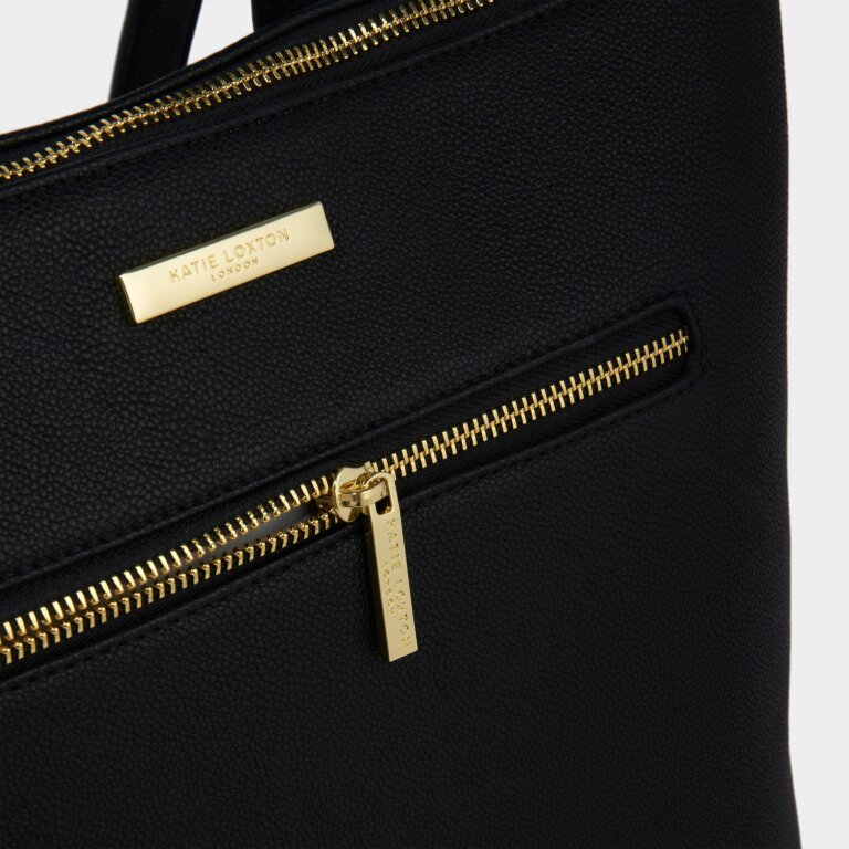 Brooke Backpack Sustainable Style in Black