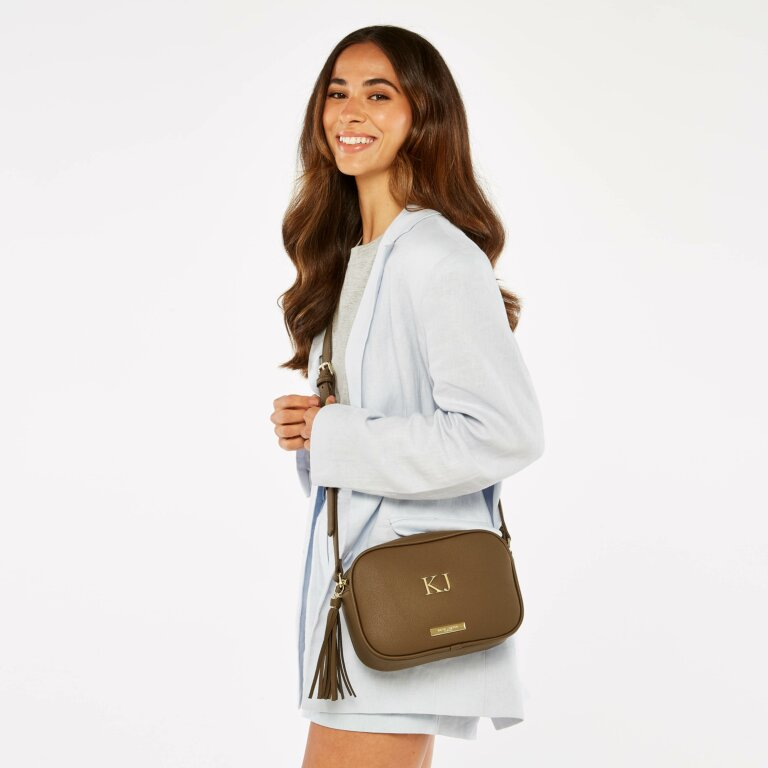Sophia Tassel Bag Sustainable Style in Brown