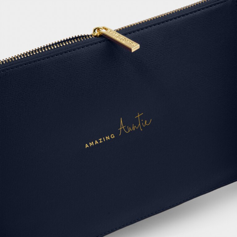 Perfect Pouch Sustainable Style Amazing Auntie