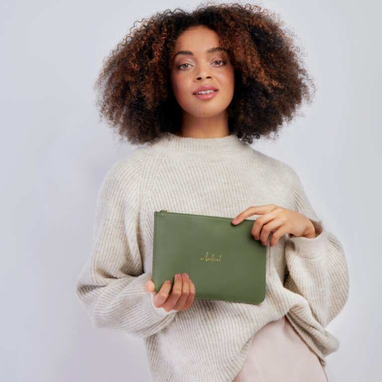 Perfect Pouch Sustainable Style Be Brilliant