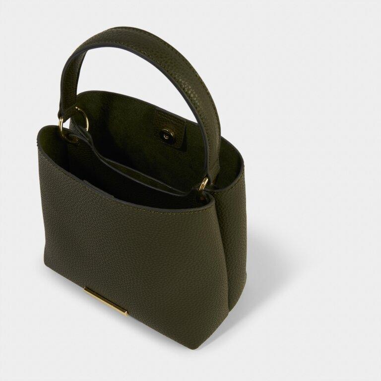 Lucie Crossbody Bag in Khaki