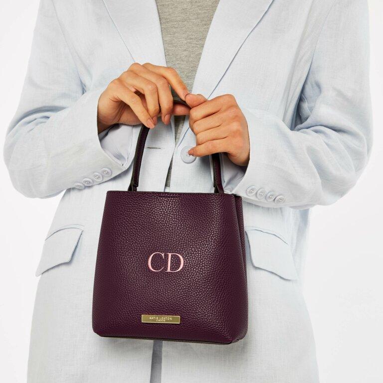 Lucie Crossbody Bag in Plum