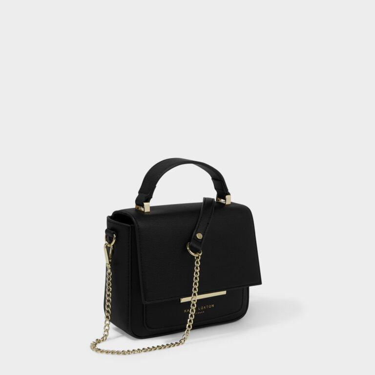 Alyce Mini Crossbody in Black