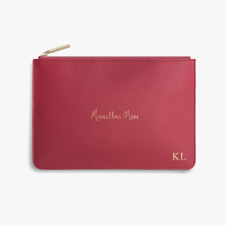 Perfect Pouch Marvellous Mum In Fuchsia Pink