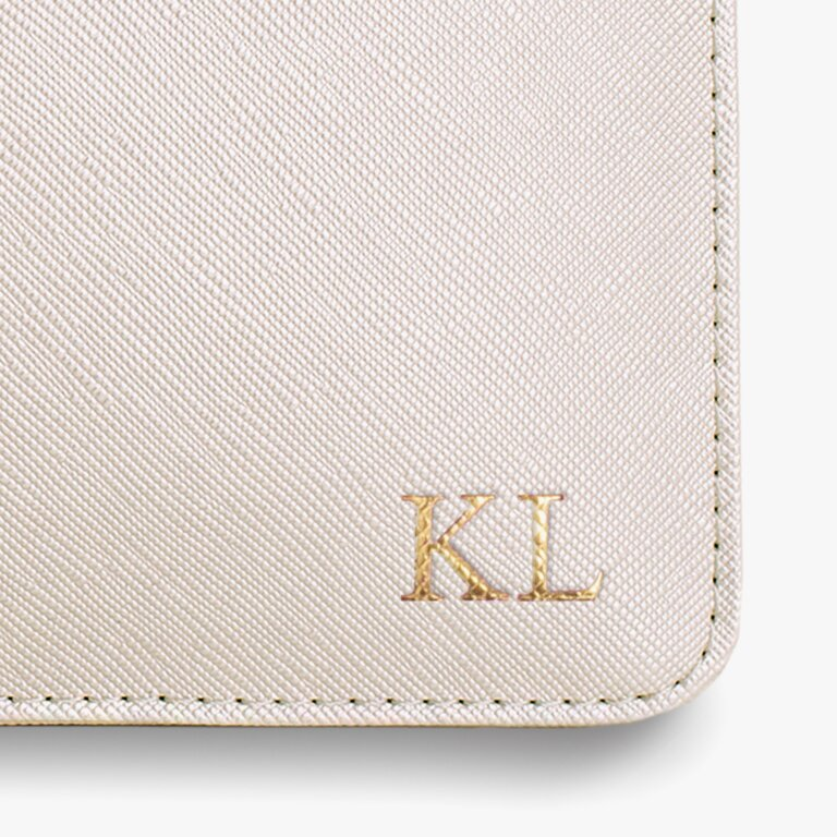 Perfect Pouch Bridesmaid In Pearlescent