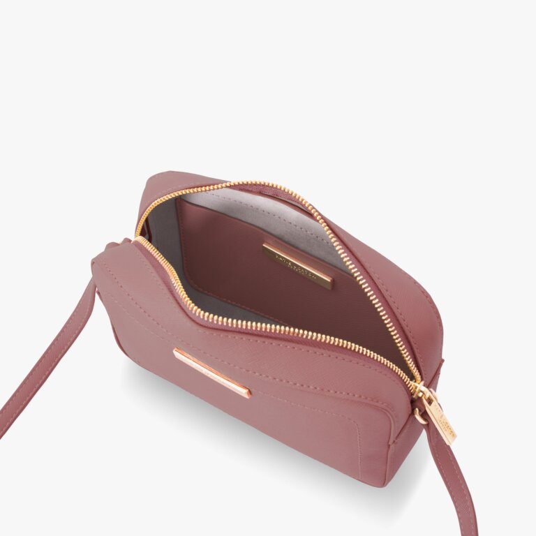 Loulou Crossbody Bag Blush In Berry Pink