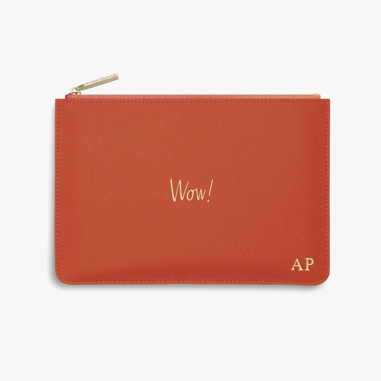 Perfect Pouch Wow! In Orange