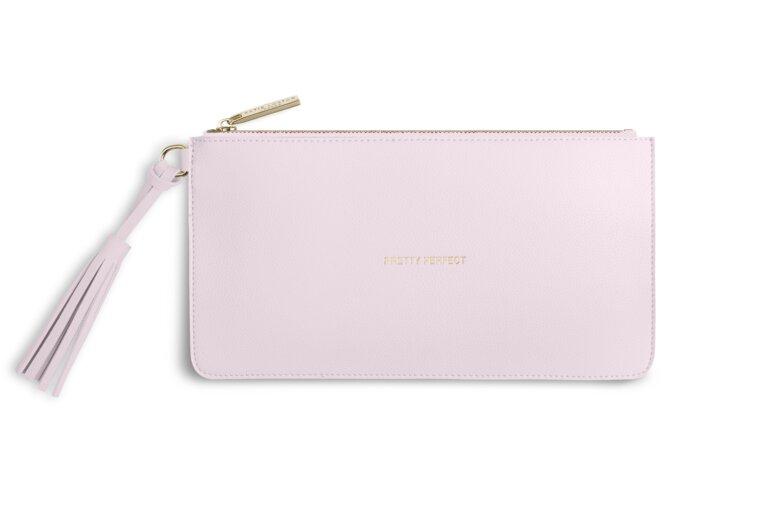 Florrie Tassel Pouch | Pretty Perfect | Powder Pink