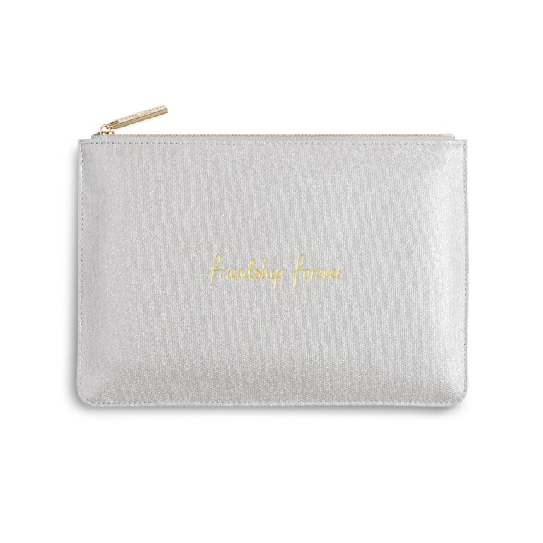 Perfect Pouch | Friendship Forever | Shiny Silver